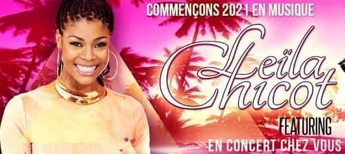 Leïla Chicot  en  concert  Live  le 1er Janvier 2021
