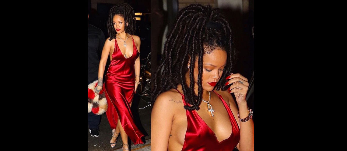 VIP Crossin - Rihanna métamorphosée, la chanteuse pulpeuse en maillot