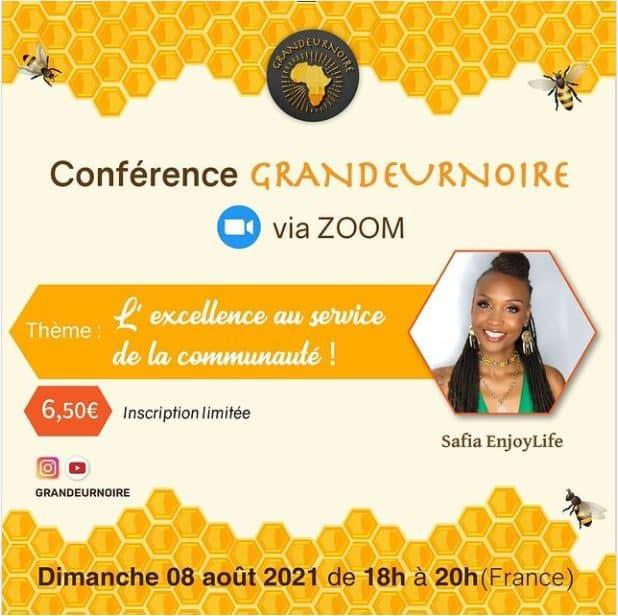 Conférence GRANDEURNOIRE via ZOOM