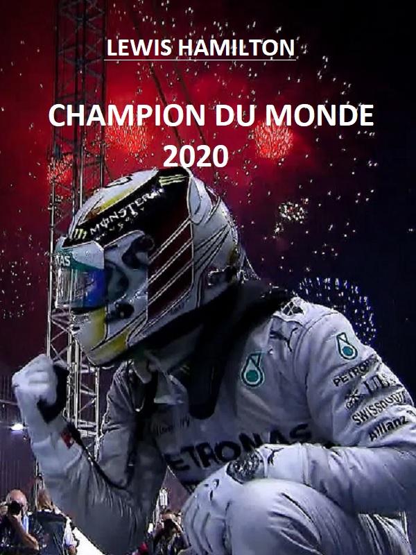 """VIP Crossin - Lewis Hamilton sextuple """"Champion du monde de Formule 1""""  au Grand Prix de Turquie"""