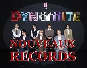 BTS : nouveaux records