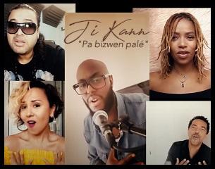 Ji Kann' & Friends - Pa bizwen palé - Kassav' Cover