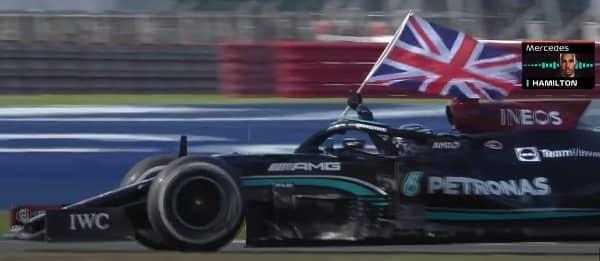 VIP Crossin - Hamilton vainqueur à Silverstone malgré son accrochage avec Verstappen