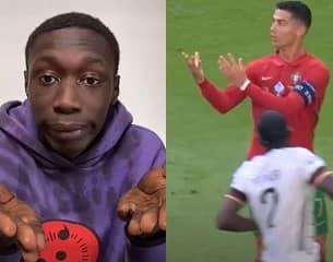 Ronaldo, clin d'œil à Khaby Lame