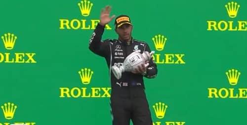Lewis Hamilton, un podium au bout de l'enfer