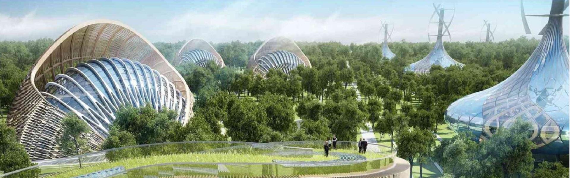 Flavours Orchard : design et écologie réunis par l'architecteVincent Callebaut