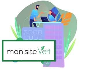 """Site écoresponsable: """"Mon Site Vert"""""""