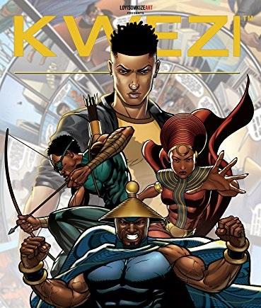 Loyiso Mkize, créateur de super-héros africains