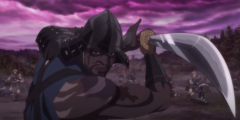 VIP Crossin - Yasuke, le premier samouraï noir sur Netflix,