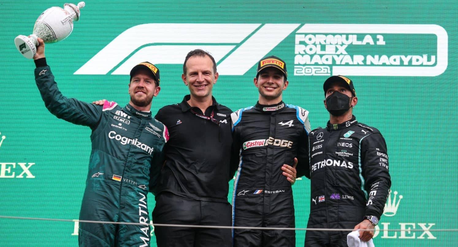 Esteban Ocon a remporté sa première victoire en F1,  Lewis Hamilton nouveau leader du championnat du monde
