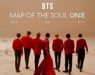 BTS donnera une série de concerts intitulée «BTS Map Of The Soul ON:E» en octobre