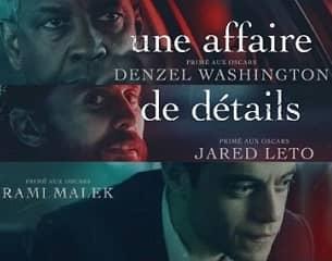 """""""Une Affaire de Détails"""", Denzel Washington, Rami Malek et Jared Leto à l'affiche"""