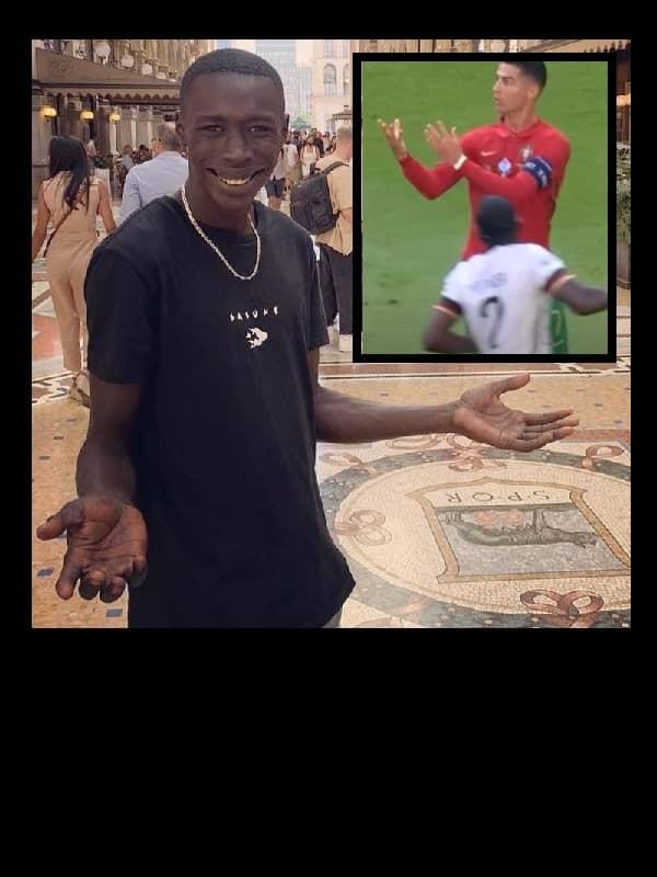 VIP Crossing - Ronaldo, clin d'œil à Khaby Lame