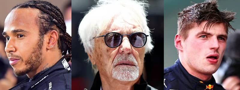 VIP Crossin - Bernie Ecclestone donne son avis sur l'état d'esprit de Lewis Hamilton