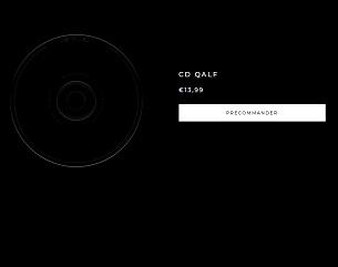 """L'album """"QALF"""" de Damso en précommande actuellement, rencontre déjà des gros scores au niveau des ventes."""