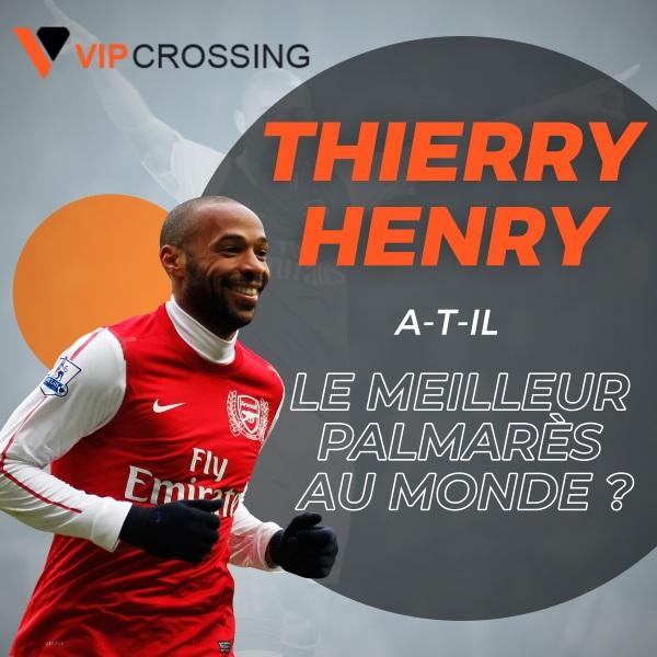 VIP Crossin - Thierry Henry sacré meilleur joueur de l'histoire de la Premier League